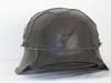 Army M42 half basket chickenwire combat helmet re-issued and named to A. Ballarin