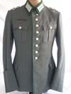 Army Gebirgsjager Hauptmann walking out dress tunic