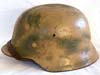 Army/Waffen SS M40 Normandy camouflage combat helmet