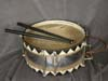 Very Rare  Schutzstaffel parade snare drum with sticks
