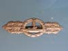 Kriegsmarine U-Boat Close Combat Clasp in bronze