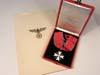 Cased 1937 Order of the German Eagle 1st Class without swords