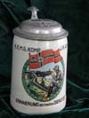 Remembrance Stein for Service Days with  4.(E.M.G)KOMP. J.R. 42 HOF