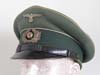 Army nco.enlisted early visor hat, unmarked