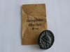 Black wound badge with packet by Franz Jungwirth