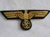 Kriegsmarine officer/nco cello breast eagle