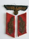 Army general collar tabs, removed from tunic, tunic eagle