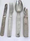 Army field utensil set , Waffenamt stamped