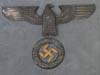 Large bronze NSDAP building eagle