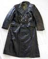 Leather greatcoat as worn by officers of the Wehrmacht and SD/SS