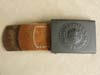 Mint Army belt buckle with 1941 dated leather tab