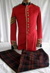 British Army Coldstream Guard Regiment Sergeant tunic dated 1932