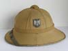 Army 1st model tropical sun helmet made by Clemens Wagner