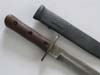 Rare Model 1937 Italian MSVN officer's dagger with chain