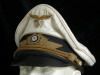 Luftwaffe General  white summer (Sommermutze) visor hat