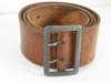 NSDAP Political leader leather belt with double claw pebbled buckle