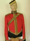 Kings Dragoon Guards stable dress tunic and pill box hat