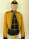 Skinner's Horse officer's mess dress uniform and vest, with side cap