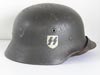 Waffen SS M40 single decal combat helmet by Quist
