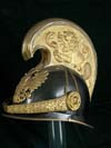 Austrian Dragoons officer's model 1906 helmet