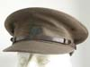 WWII Australian Commonwealth Army officer visor hat