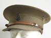 WWII New Zealand Army medical officer's visor hat