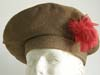WWII Black Watch tam with original feather for Other Ranks