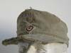 Very rare AFRIKAKORPS worn M41 visor field cap by KARL HALFAR