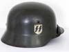 Waffen SS M35 double decal helmet by Quist