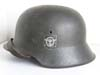 Polizei M42 double decal combat helmet by EF