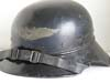 Luftschutz gladiator style helmet complete with original chinstrap and leather liner