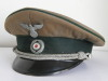 Early Forestry officer visor hat by August Schellenberg