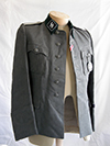 Waffen SS tunic and breeches of a second lieutenant (<em>Untersturmführer</em>).