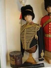 Royal Horse Artillery officer's full dress uniform