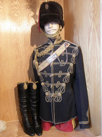 Royal Scots Greys officer's full dress uniform