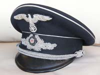 Rare Diplomatic official's visor hat by Erel