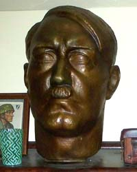 Life size bronze bust of Adolf Hitler by famous artist Hedwig Maria Ley