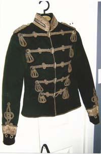 1870-1890'S LEIB HUSSAR REGIMENT ONE SPENCER UNIFORM FOR A MAJOR
