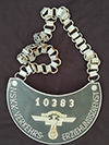 NSKK VERKEHRS-ERZIEHUNGSDIENST number 10383 gorget with replaced chain