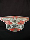Werkschutz factory protection badge numbered 6157